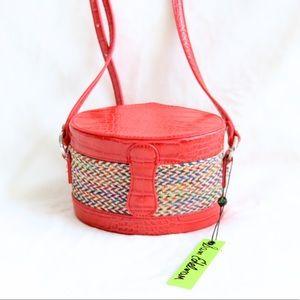 "✨HP✨ Sam Edelman ""Evalynn"" Red Box Crossbody Bag"